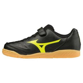 REVIEWER 3 CLUB+KIDS IN(Soccer)[Junior], Black x Yellow