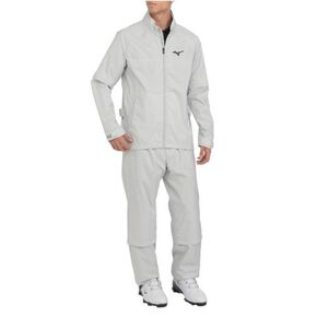 Move rain suit 0A01 (upper and lower sets) [mens], Gray