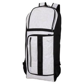 Racket bag (2 pieces) (Backpack type), White