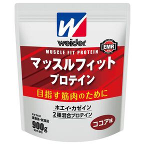 Morinaga & Company/Weider Muscle Fit Protein 900g(Cocoa Flavour) ※, NONE