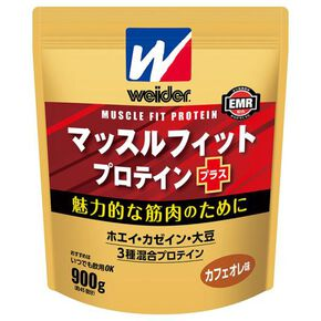 Morinaga & Weider Muscle Fit Protein Plus 900g (Cafe ole taste) ※, NONE