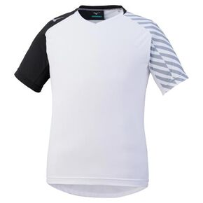 SOLAR CUT sublimation Pt field shirt [Junior], White