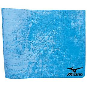 Water-absorbent quick-dry towel (thin type) (44 x 68 cm), Sax