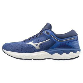 WAVE SKY Rise (Running)[ladies], Blue × Silver