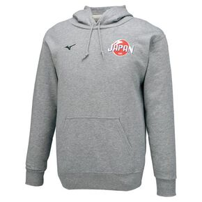 Japanese National Judo Team supporting Sweat Parka[Unisex], Gray
