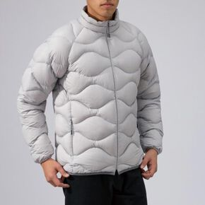 BREATH THERMO light weight down Jacket[mens], Vapor Silver
