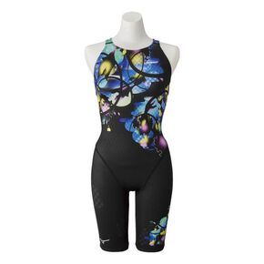 Jammers for competitive swimming (open)[ladies], Black x Blue