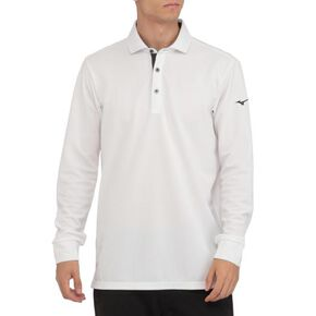 ICE TOUCH Chambray long sleeve shirt (joint collar)[mens], White
