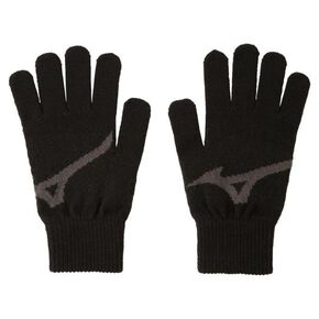 BIG logo gloves [Unisex], Black