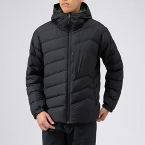 BREATH THERMO reflection gear middle weight down jacket [mens], Black