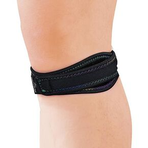 BIO GEAR Supporter (for knees / for both left and right / 1 piece), Black