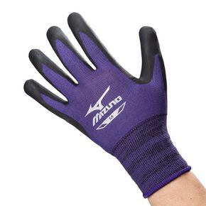Work grab endurance rubber type [Unisex], Black x Purple