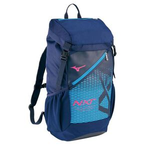 N-XT backpack(40L), Navy × Magenta