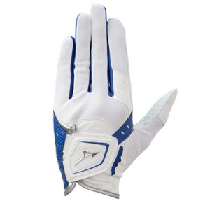 ICE TOUCH gloves/ cool grip/ left hand (Golf)[mens], White × Blue