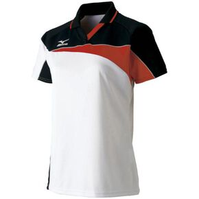 DRY SCIENCE Game shirt (long silhouette/racquet sports) [ladies], White