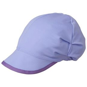 2WAY cap with brim, Lavender × Lavender
