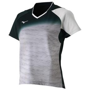 DRY SCIENCE Game shirt (racquet sports) [ladies], Vapor Silver