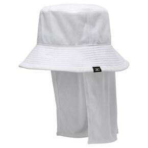 SOLAR CUT Hat with drips [ladies], White