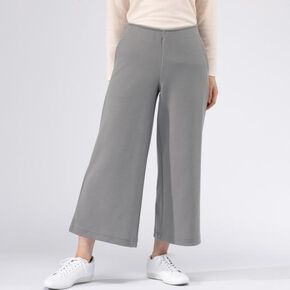 BREATH THERMO wool punch pants [ladies], Steeple Gray
