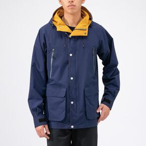 BREATH THERMO reflection gear mountain parka [mens], Astral Aura Blue