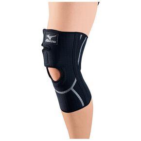 Supporter (for knees / for both left and right / 1 piece) , Black