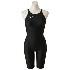 Half spats for competitive swimming [ladies], Black