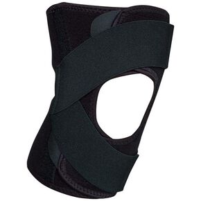 【Active guard】Knee supporter (for right) (unisex), Black