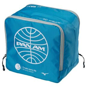 PANAM travel pouch S, Sky Blue × White
