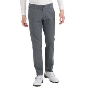 Brushed back stretch MOVE pants(large size)[mens], Cass Charcoal