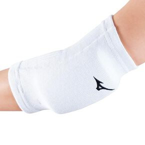 Elbow supporter(set of 2) (volleyball)[Junior], White × Black