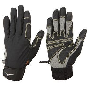 Mesh trail gloves, Black