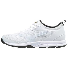 【Global Elite】GE Player trainer (baseball/ softball)[mens], White × White