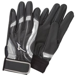 Gloves Long Type (Both Hands) (Park Golf) [mens], Black