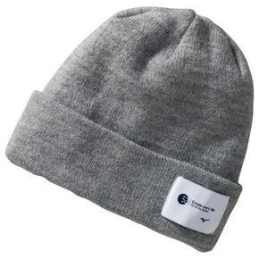 BREATH THERMO Double Knit Cap [Unisex], Gray