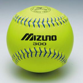 Mizuno 300 leather softball (1 dozen), NONE