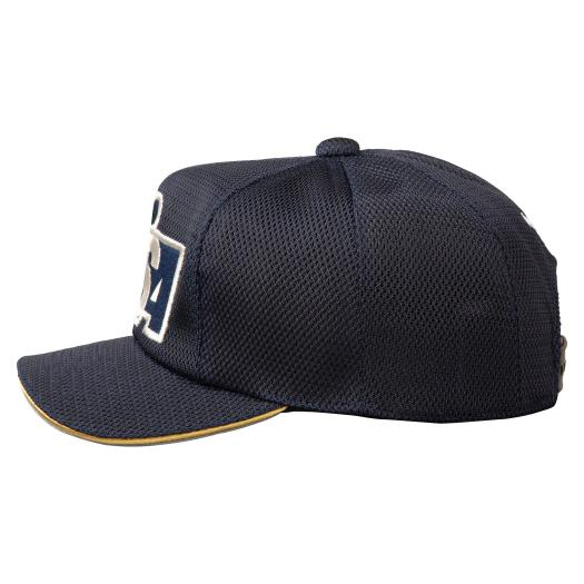 All-mesh cap for softball umpire (octagonal/ base umpire, ball umpire) [Unisex],