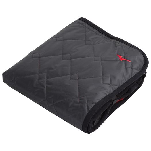 Fleece blanket, Black x Red